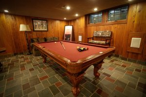 Pool Table at our Louisville Vacation Rental