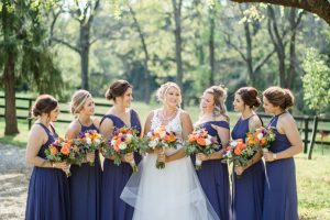Bridal Party at our Louisville Wedding Venue