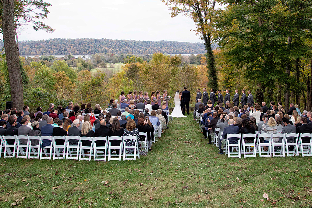 Ceremony at our Louisville Wedding Venue